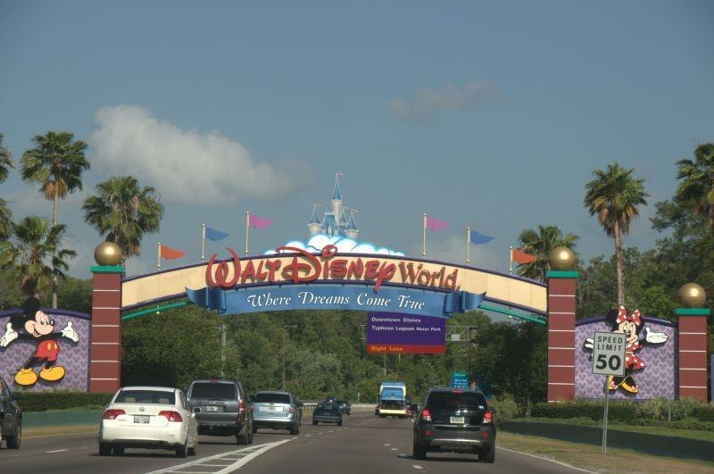 Zufahrt zur Disney World