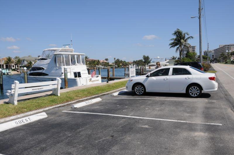 Meine (Wunsch-) Yacht und mein (Leih-) Wagen