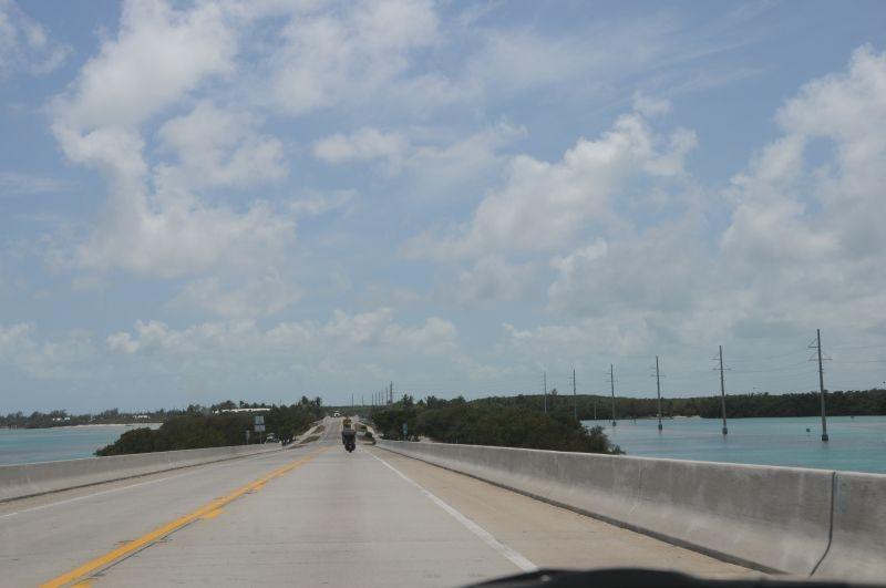 Auf den Keys Richtung Süden