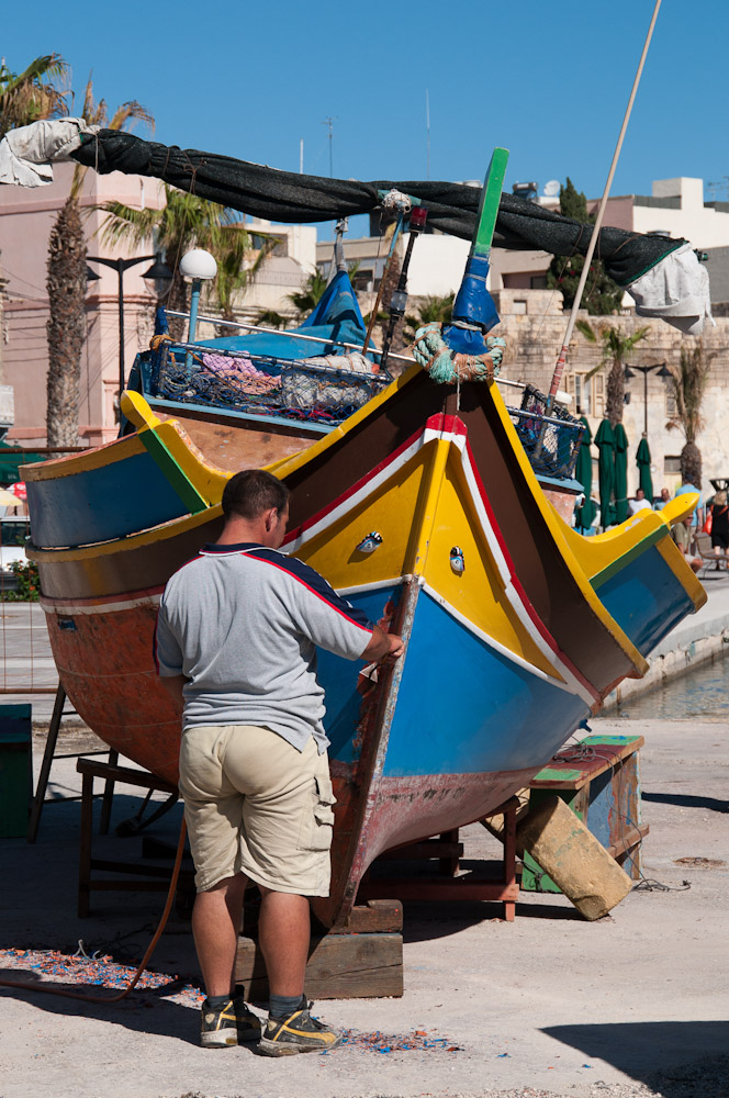 Bootspflege