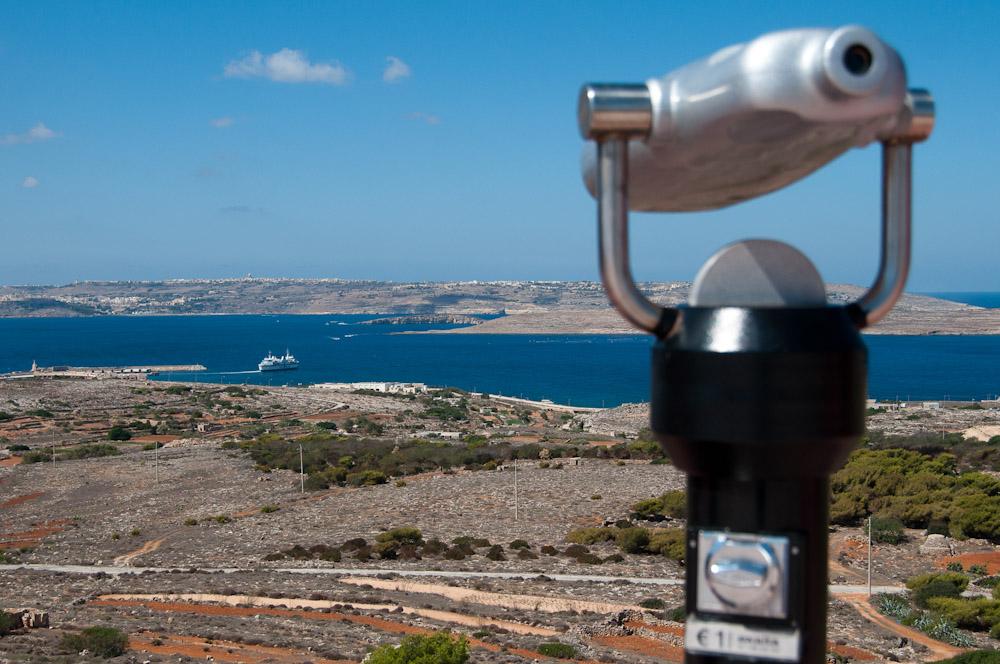 Blick nach Gozo