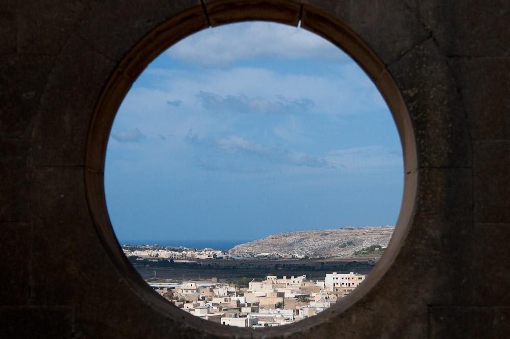 Ausblick auf Gozo