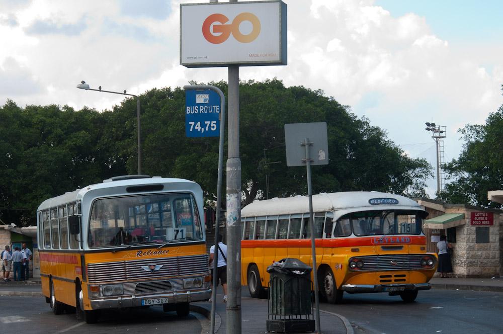 Busbahnhof in Valetta