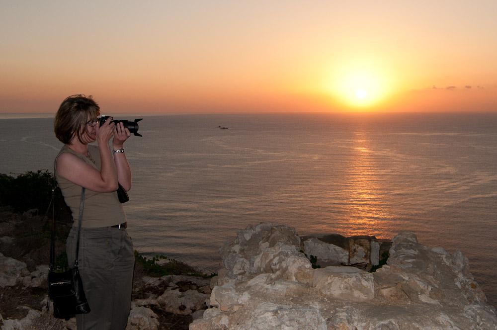 Sonnenuntergang auf Malta