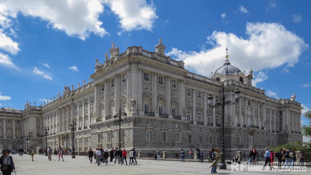 Madrid, Palast Real