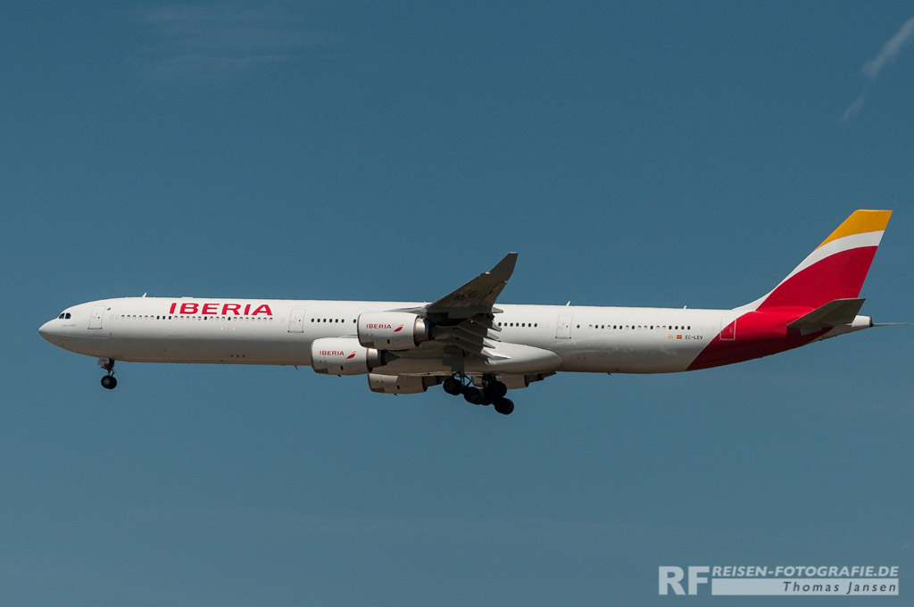 Madrid, Iberia, A340