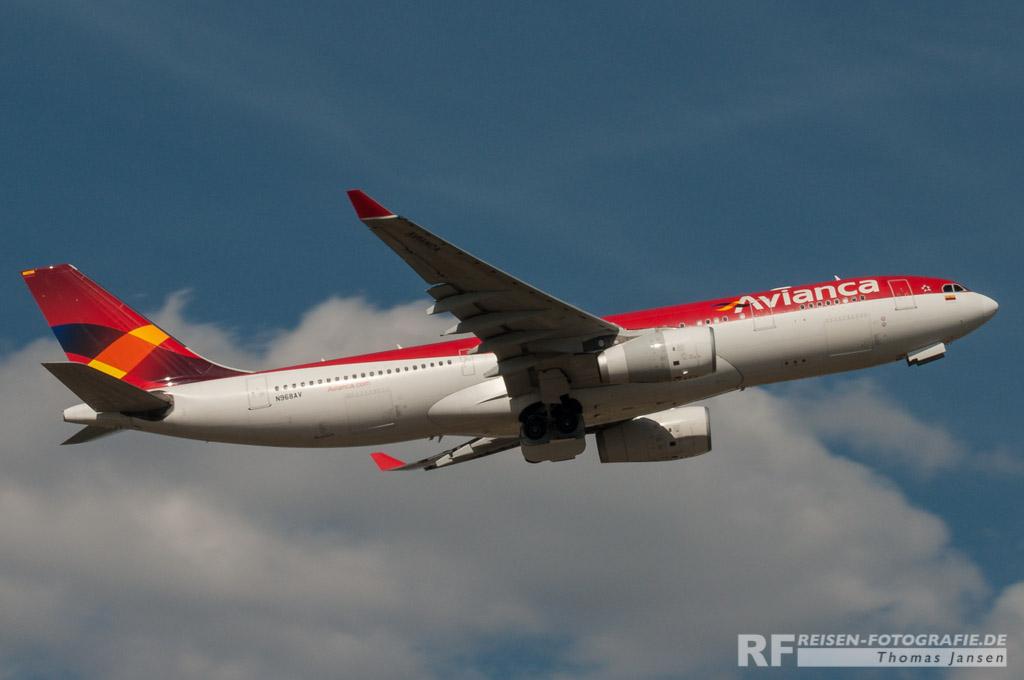 Madrid, Avianca, A330
