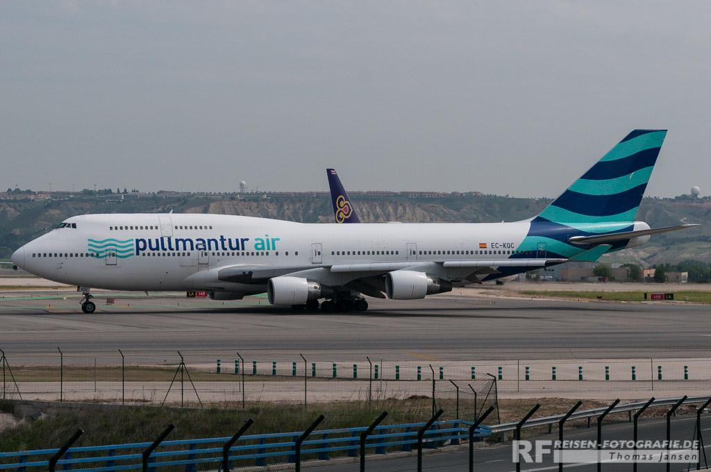 Madrid, Pullmatur Air, B747