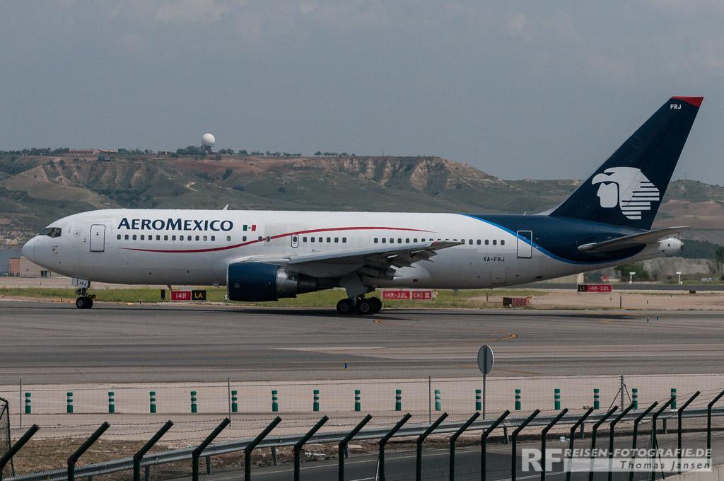 Madrid, AeroMexico, B767