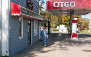 Tankstelle im Nordosten USA