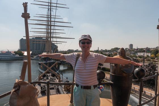 An Bord der Olympia