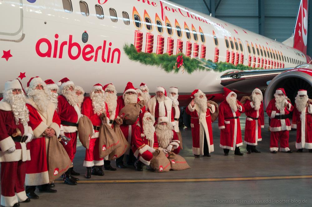 Air Berlin Weihnachtsflieger 2013