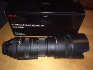 Sigma 50-500 f4.5-5.6 APO DG OS
