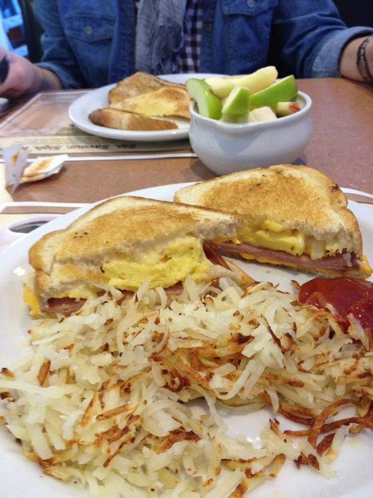 USA Frühstück im Diner