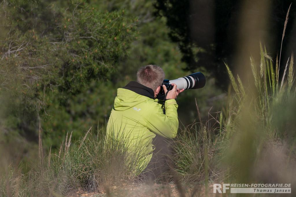 Spotter im Busch