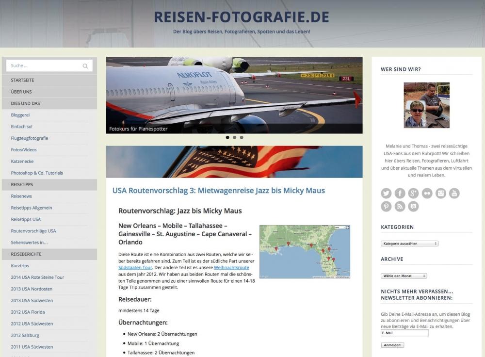 reisen-fotografie.de im aktuellen Design