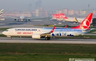 Flugzeuge fotografieren in Istanbul - einer der schönten Spotterplätze der Welt