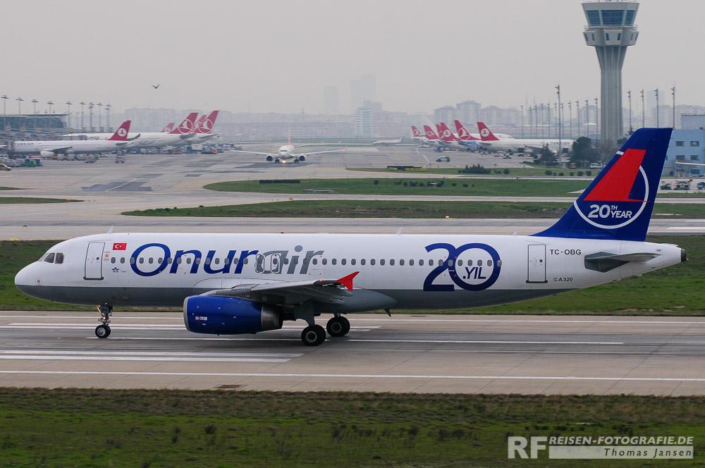 Bild 5: Istanbul - bewölkter Himmel
