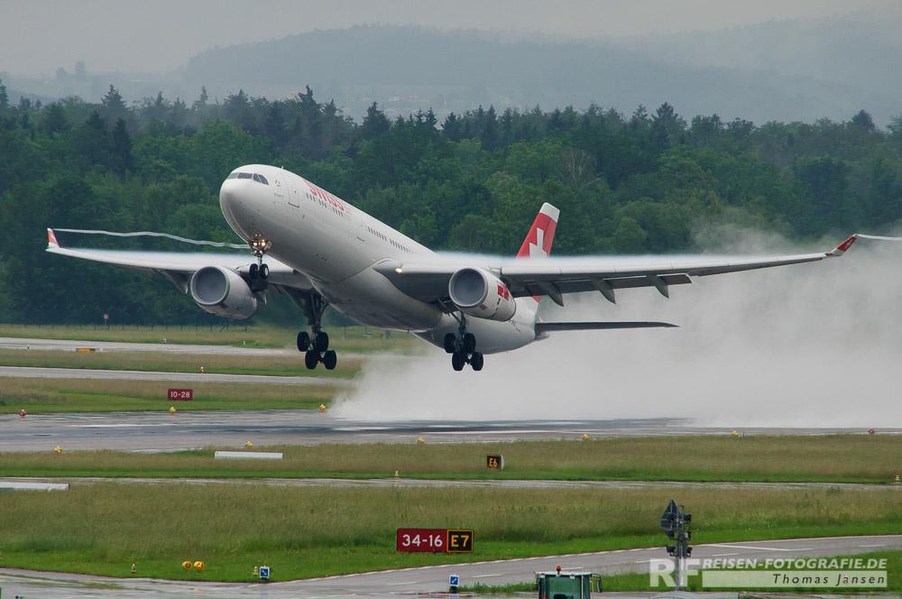 Bild 7: Zürich im Regen