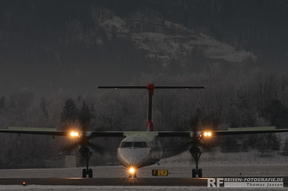 Salzburg - Wenig Licht am frühen Morgen