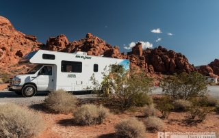 Cruise America im Valley of Fire