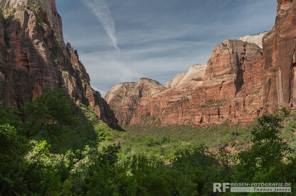 Aussicht vom Wedding Trail im Zion NP