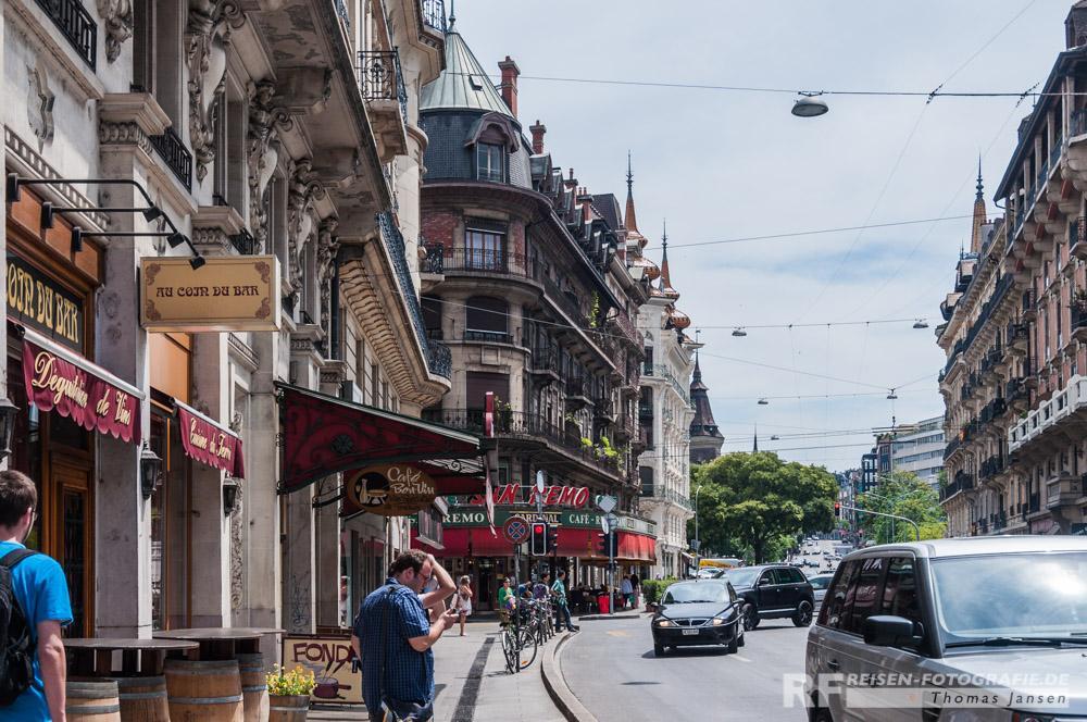 Straßen von Genf
