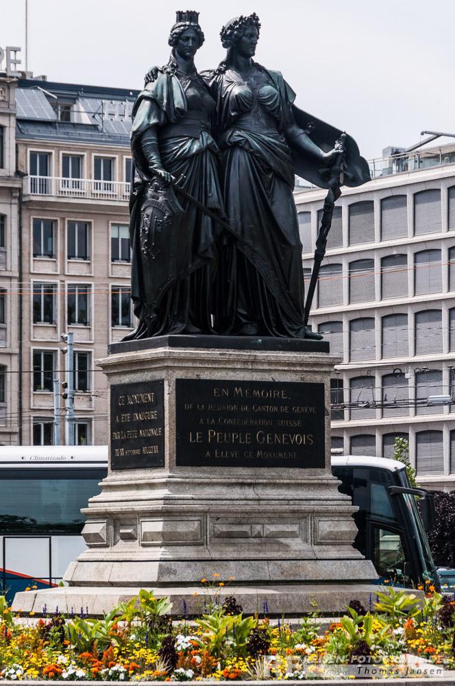 Denkmal in Genf