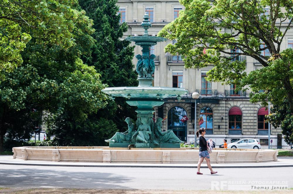 Brunnen in Genf
