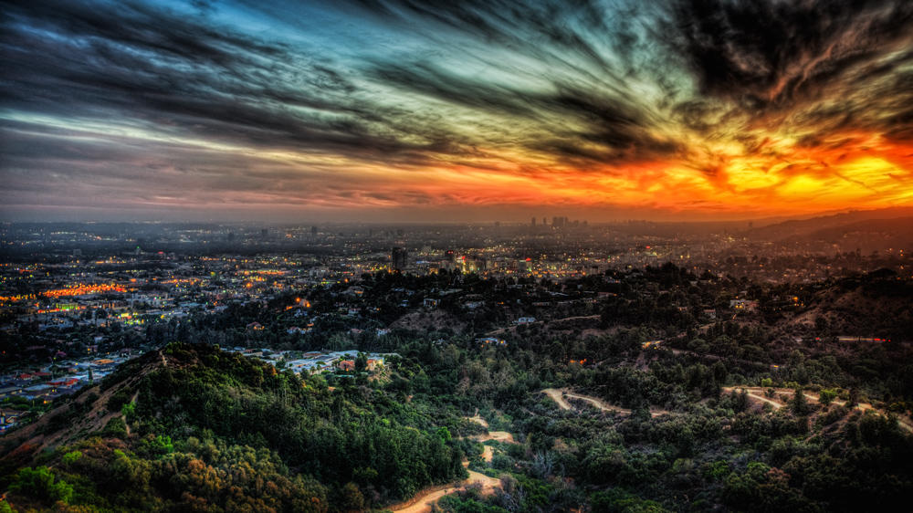 HDR des Monats Juni: Sunset in Los Angeles