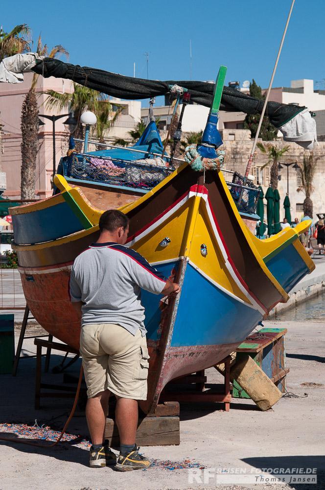 Marsaxlokk - Malta - Fischerboot