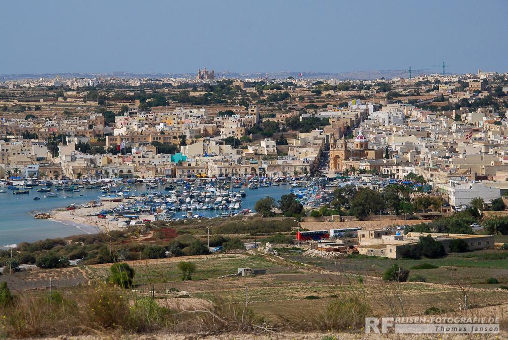 Malta - Marsaxlokk - Übersicht