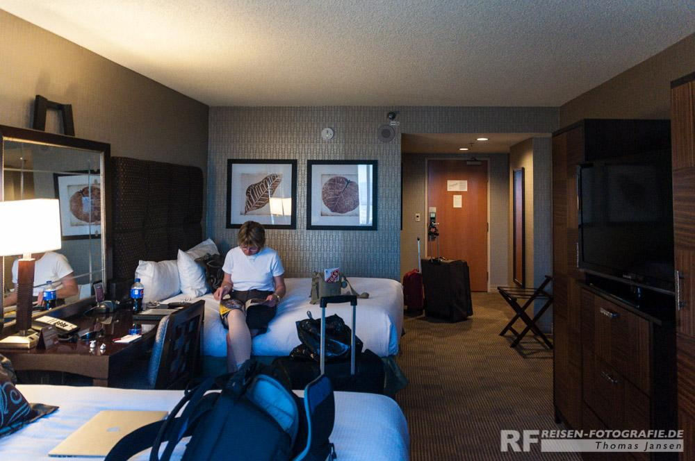 Unser Zimmer im New York Hotel