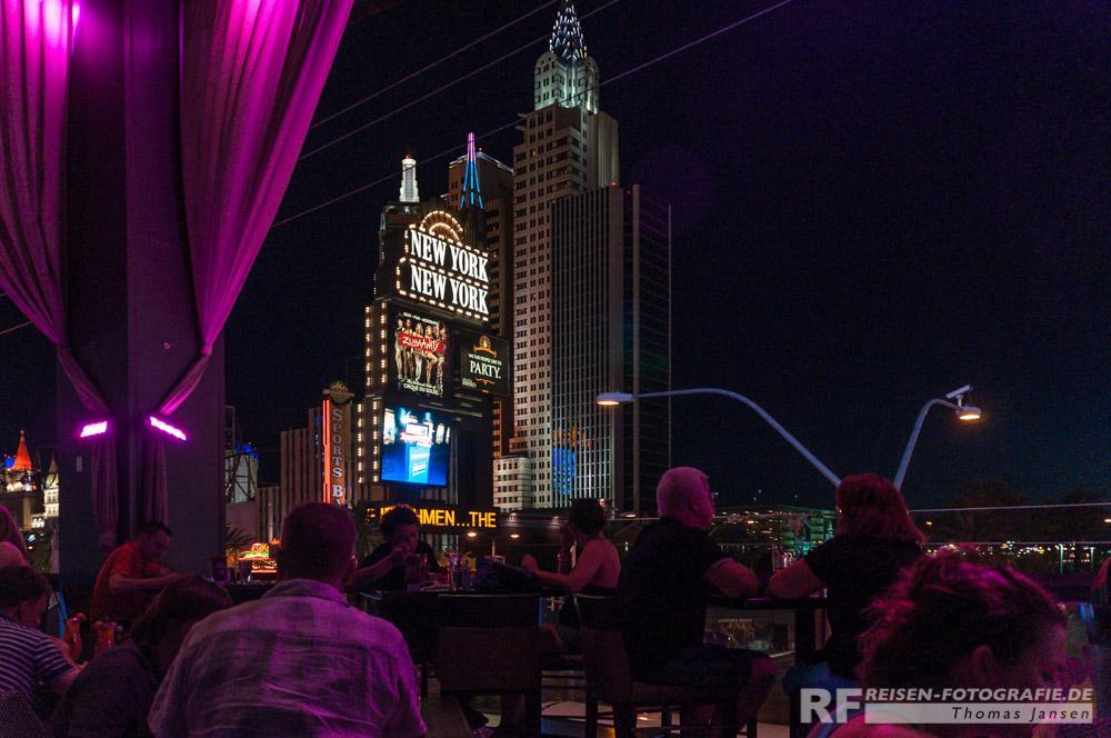 Aussicht aus dem Hard Rock Cafe