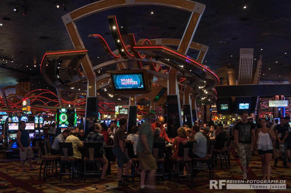 Spieltische im Casino