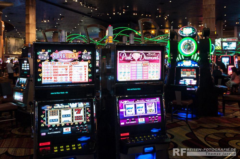Daddelkisten in Las Vegas