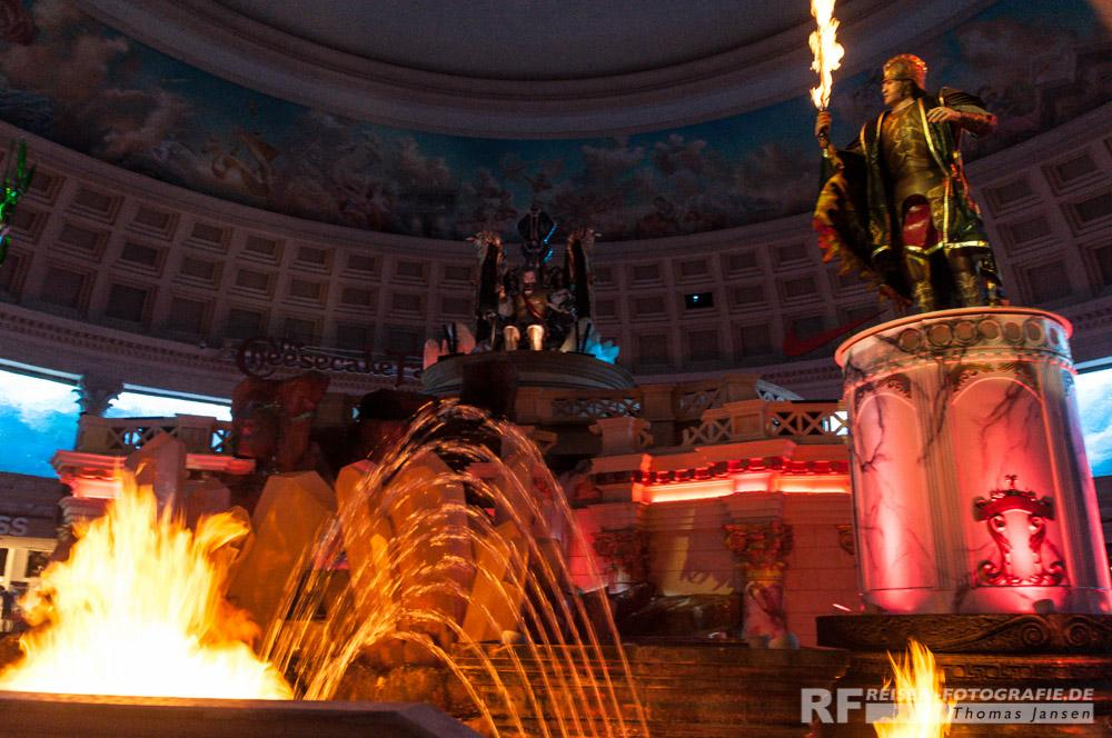 Brunnen im Caesars Palace