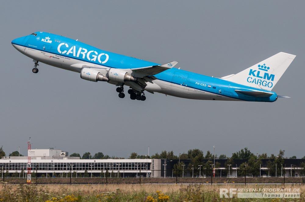 KLM Cargo Boeing B747-400
