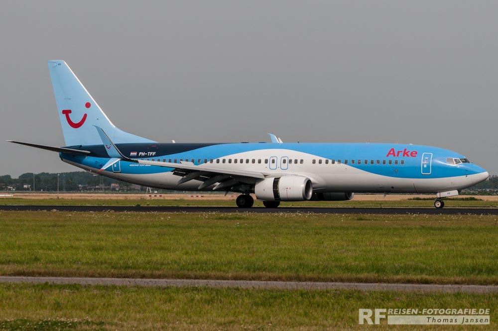 Arke Fly Boeing B737-800 in neuer Lackierung