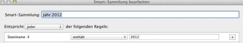 Filterung über Dateinamen