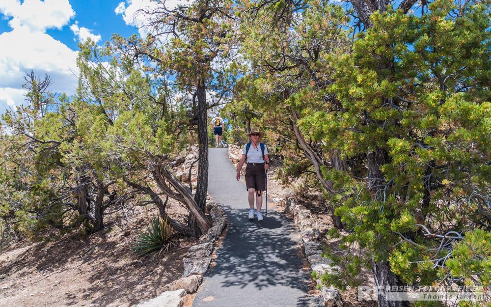 Tolle Wanderwege zwischen den Aussichtspunkten