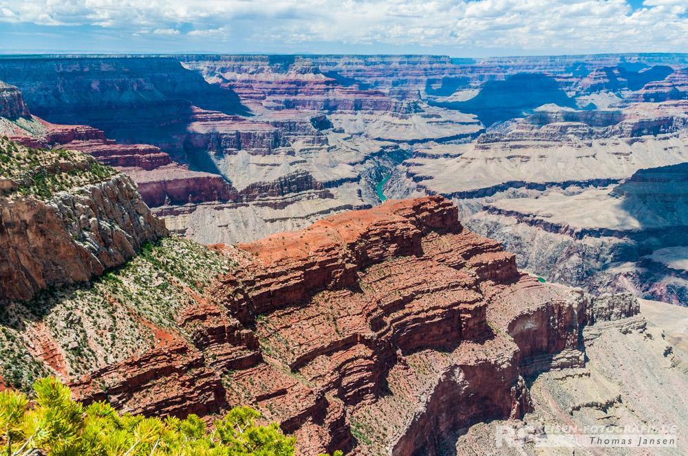 Der Anblick des Grand Canyons ist beeindruckend