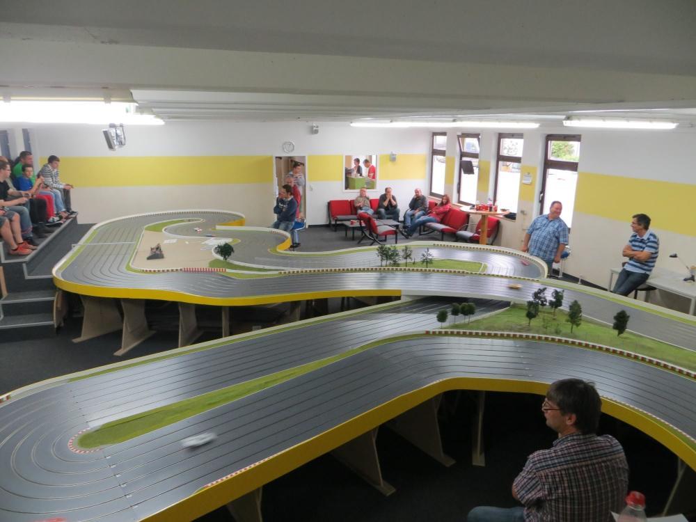"""Die Holzbahn """"Suzuka"""" in Moers"""