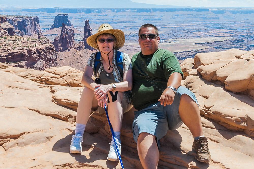 Melanie und Thomas auf Reisen