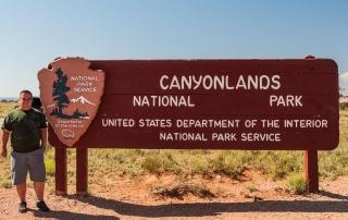 Canyonlands Parkschild