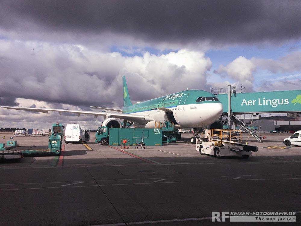 Airbus A330 von Aer Lingus