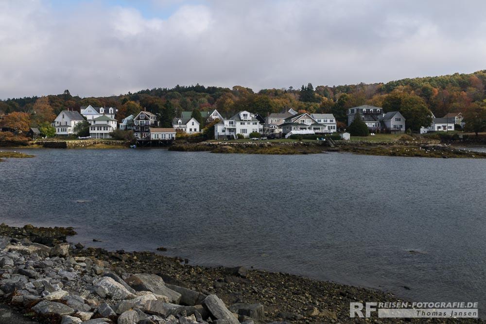 Wohnen an der Küste von Maine