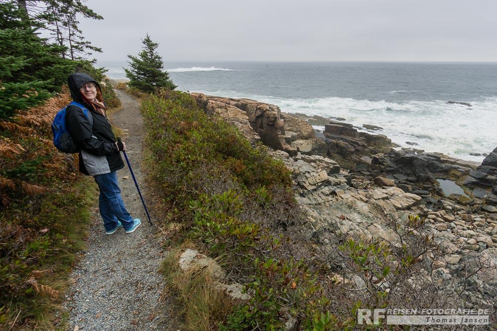 Weg zum Otter Point