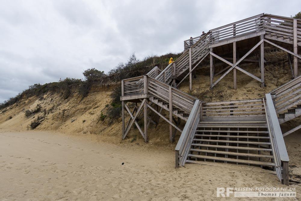 Zugang zum Strand von Eastham