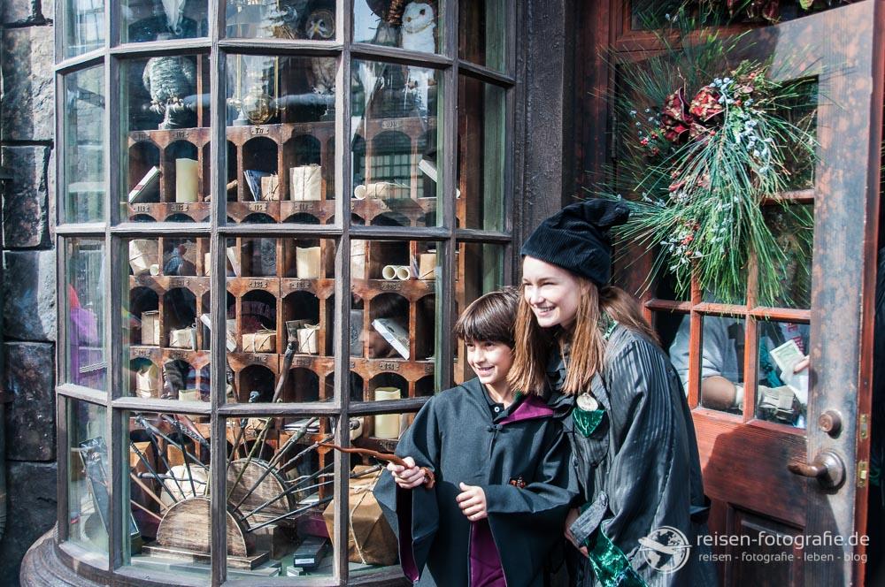 Zauberer in Hogsmeade